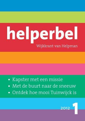 Helperbel 2012, nummer 1