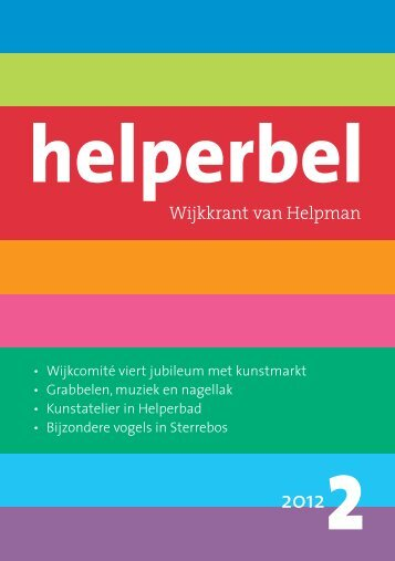 Helperbel 2012, nummer 2
