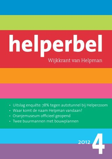 Helperbel 2012, nummer 4
