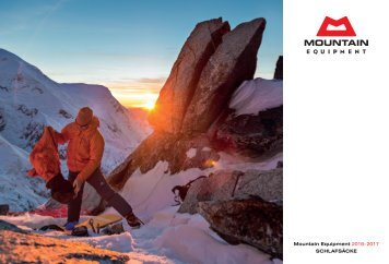 2016/17 Mountain Equipment Katalog