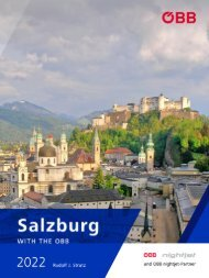 Salzburg with the OBB