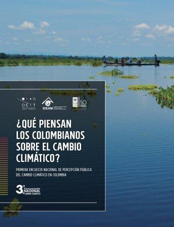¿QUÉ PIENSAN LOS COLOMBIANOS SOBRE EL CAMBIO CLIMÁTICO?
