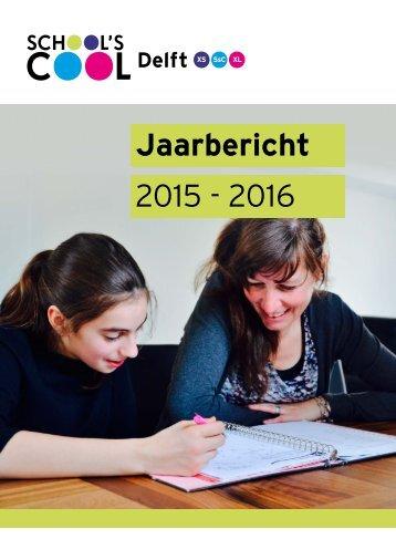 Jaarbericht 2015 - 2016
