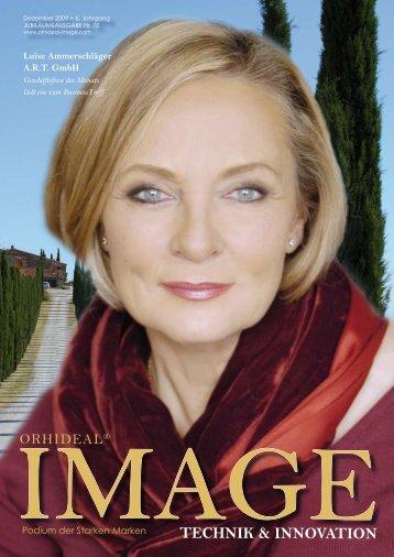 Orhideal IMAGE Magazin Dezember 2009