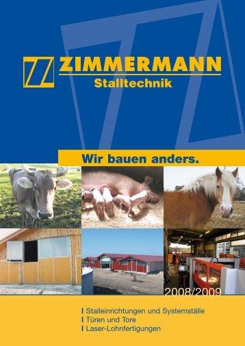herunterladen [PDF, 2 MB] - Zimmermann Stalltechnik GmbH
