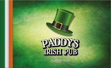Paddy's Menü