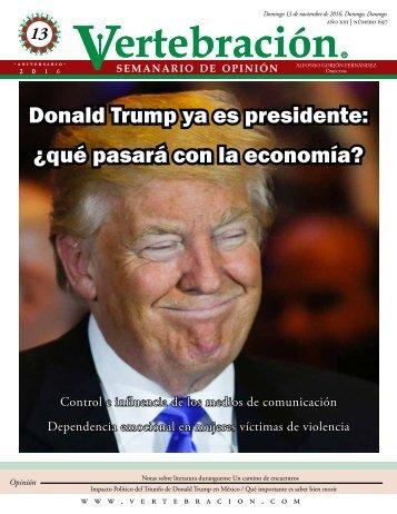 Donald Trump ya es presidente ¿qué pasará con la economía?