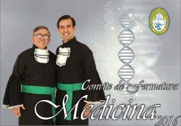Convite de Formatura - MEDICINA (VALDERI e BEN)