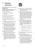 Philips Minichaîne hi-fi - Mode d'emploi - CES - Page 3