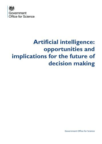 implications for the future of decision making