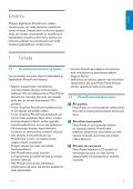 Philips Cadre Photo - Mode d'emploi - FIN - Page 5