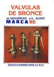 Catálogo de Válvulas de Bronce