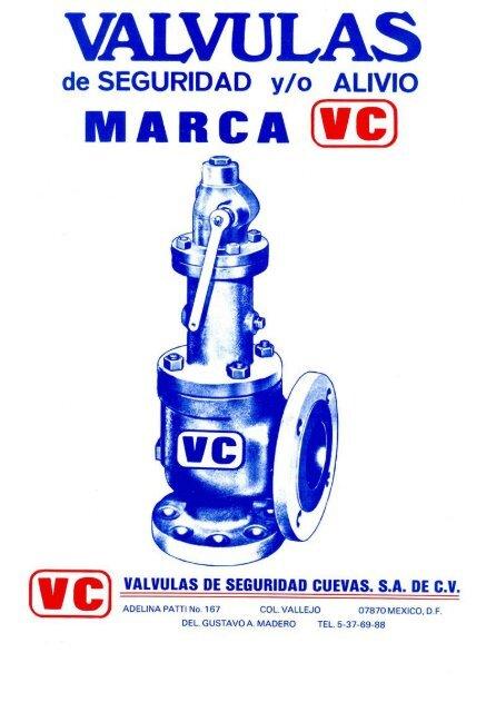 Catálogo de Válvulas de Acero