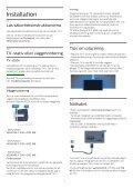 Philips 7600 series Téléviseur UHD 4K ultra-plat avec Android™ - Mode d'emploi - SWE - Page 6