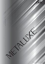 YKK Plastic Zipper Metaluxe