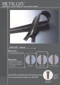 YKK Plastic Zipper Metaluxe - Page 2