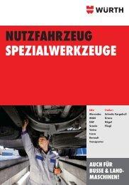Nutzfahrzeug Spezialwerkzeuge - Würth