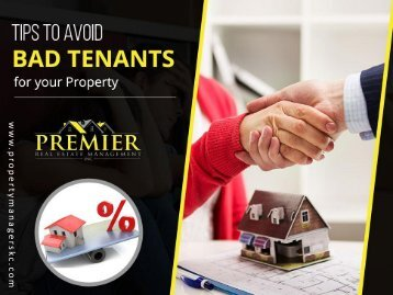 How to Keep Bad Tenants Away from your Property