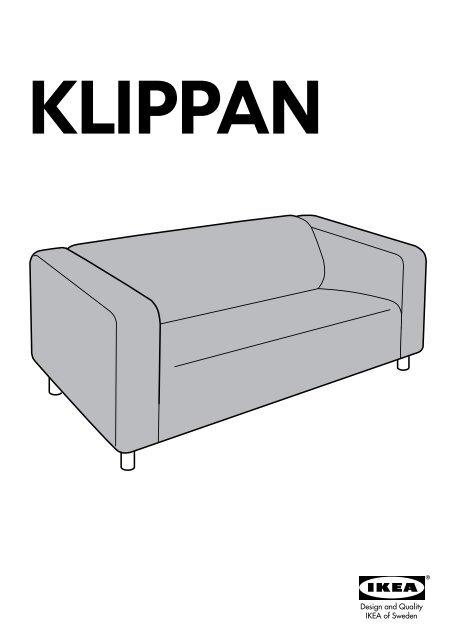 Divano Klippan Ikea.Ikea Klippan Fodera Per Divano A 2 Posti 00157538