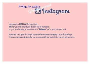 How to Instagram Tips