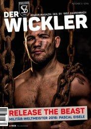 Der Wickler 3. Ausgabe 2016
