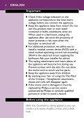 Philips SalonMultistylist Brosse multi-styles - Mode d'emploi - LAV - Page 4
