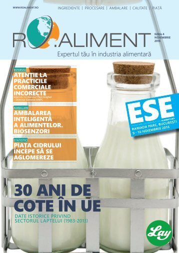 Revista RO.aliment editia 4- expertul tau in industria alimentar4