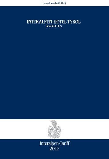 Interalpen-Tariff 2017