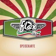 Flax Italy Dornbirn - Speisekarte 2016