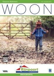 Rijnpoort Makelaars WOON magazine #30, uitgave december 2016