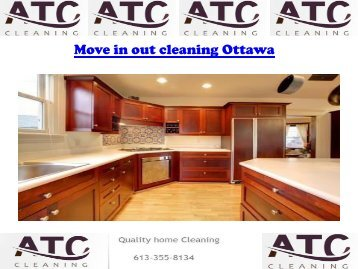 Move in out cleaning Ottawa