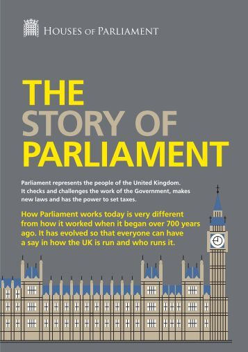 THE STORY OF PARLIAMENT