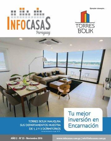 Revista InfoCasas Paraguay Noviembre 2016