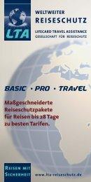 weltweiter reiseschutz - LTA Reiseschutz