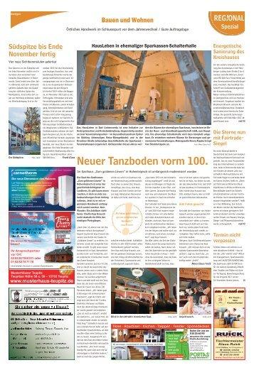 Bauen und Wohnen Ausgabe Bad Liebenwerda 12. November 2016