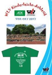 Kurzübersicht WLV KinderleichtAthletik VOR ORT 2017