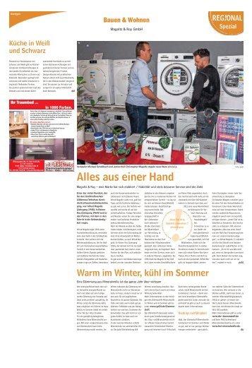 Bauen und Wohnen Ausgabe Calau 12. November 2016