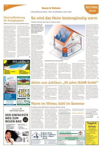 Bauen und Wohnen Ausgabe Spremberg 12. November 2016