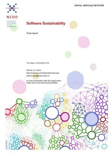 Software Sustainability