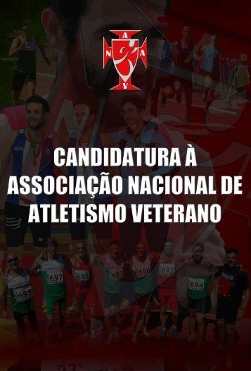 CANDIDATURA À ASSOCIAÇÃO NACIONAL DE ATLETISMO VETERANO