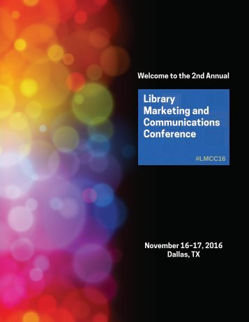 Welcome to the 2nd Annual November 16–17 2016 Dallas TX