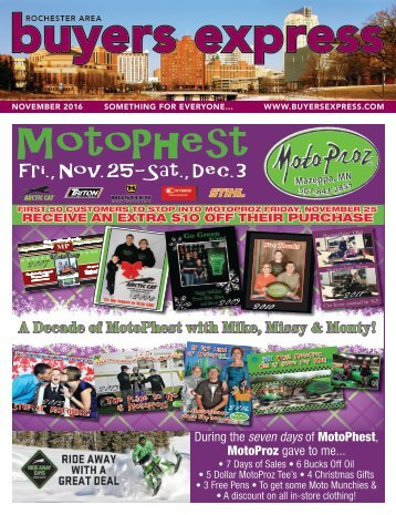 Buyers Express - Rochester Edition - November 2016