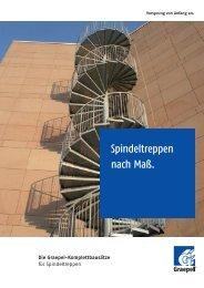 Graepel Broschüre Spindeltreppen