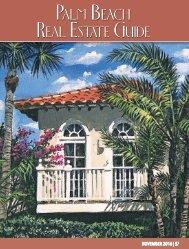 Palm Beach Real Estate Guide November 2016