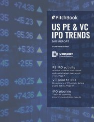 US PE & VC IPO TRENDS