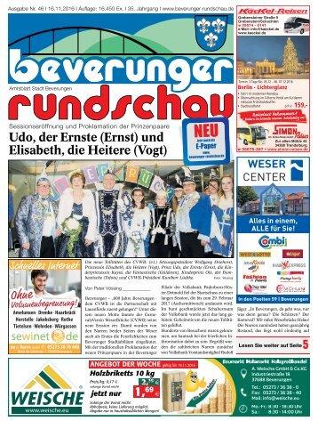 Beverunger Rundschau 2016 KW 46