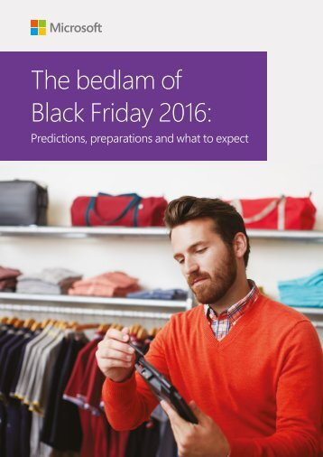 The bedlam of Black Friday 2016
