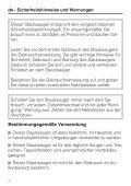Miele Swing H1 Excellence EcoLine - SACJ1 - Istruzioni d'uso - Page 4