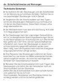 Miele Swing H1 Excellence EcoLine - SACJ1 - Istruzioni d'uso - Page 6