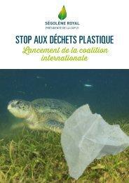 STOP AUX DÉCHETS PLASTIQUE